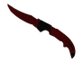Skin ★ Falchion Knife | Crimson Web