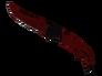 Falchion Knife - Crimson Web