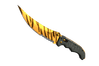 ★ StatTrak™ Flip Knife | Tiger Tooth (Factory New)