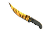 ★ StatTrak™ Flip Knife | Tiger Tooth (Minimal Wear)