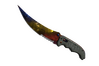 ★ StatTrak™ Flip Knife | Marble Fade (Factory New)