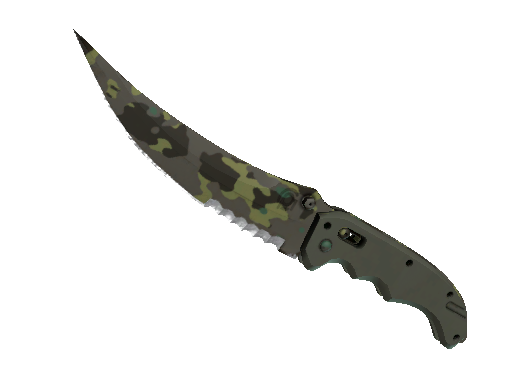 ★ StatTrak™ Flip Knife | Boreal Forest (Battle-Scarred)