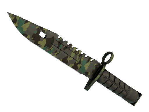 ★ StatTrak™ M9 Bayonet | Boreal Forest (Battle-Scarred)