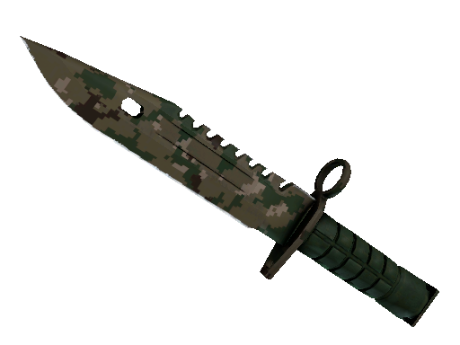 ★ StatTrak™ M9 Bayonet | Forest DDPAT (Battle-Scarred)