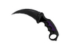 ★ StatTrak™ Karambit | Ultraviolet (Well-Worn)