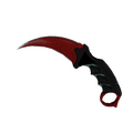 ★ Karambit | Crimson Web <br>(Factory New)