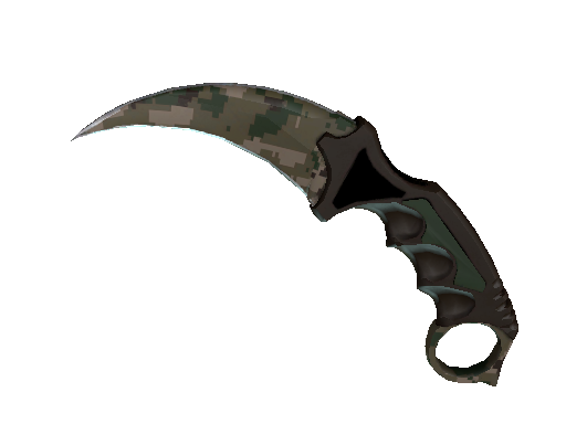 ★ StatTrak™ Karambit | Forest DDPAT (Battle-Scarred)