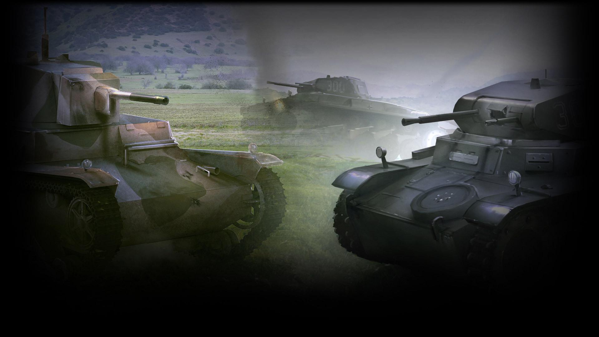 7TP & Panzer I