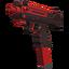 AAP-8 Pistol - Cherry Bomb
