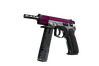 CZ75-Auto | The Fuschia Is Now (Well-Worn)