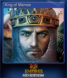 King of Memes (Trading Card)