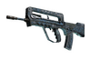 Souvenir FAMAS   Cyanospatter (Battle-Scarred)