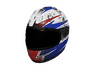 Skin: Red and Blue Racing Helmet