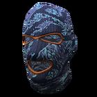 Blue Camo Ski Mask
