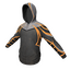 Skin: Black and Orange Athletic Hoodie