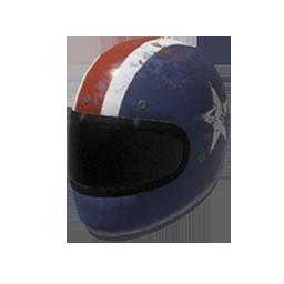 Patriotic Motorcycle Helmet