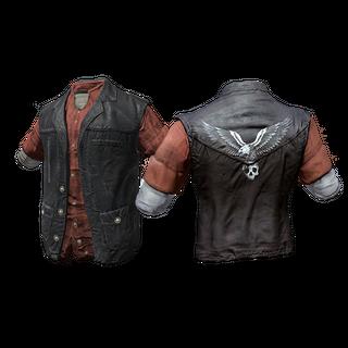 Skin: Eagle Flannel Vest