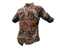 Skin: Paisley Flannel Shirt