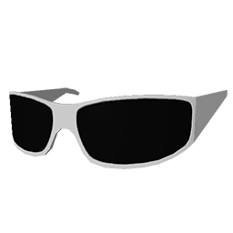 Skin: White Sunglasses