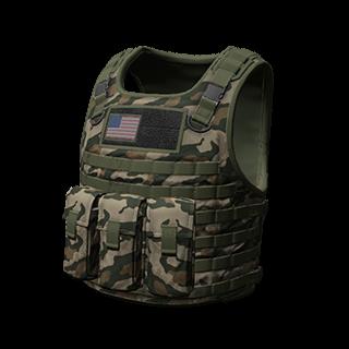 Camo Body Armor