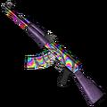 Rainbow Swirl AK-47