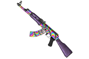 Rainbow Swirl Ak 47