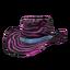 Skin: Pink Zebra Cowboy Hat