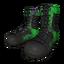 Green Splatter Boots