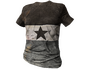 Skin: Gray Striped Shirt with Star