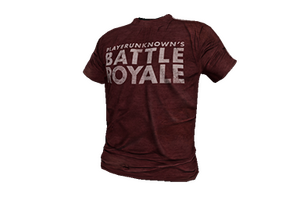 Red Battle Royale T Shirt