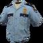 Skin: Police Shirt