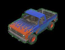 Burnout Pickup Truck