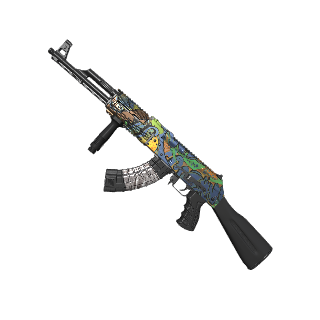 Graffiti AK-47