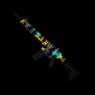Season 2 Showdown AR-15
