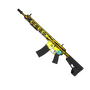 Showdown Gold AR-15