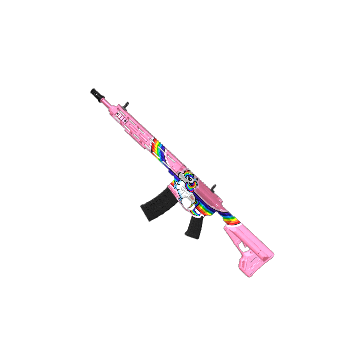 Rainbow Unicorn AR-15