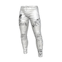White Leather Anarchy Pants