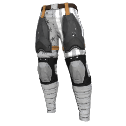 Patriotic White Military Pants