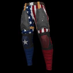 Patriotic Stars Military Pants
