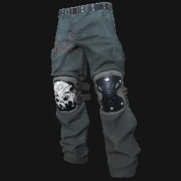 Skull Padded Pants