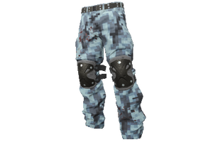 Digital Camo Padded Pants