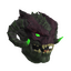 Infernal Demon Mask (Green)