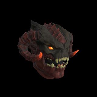 Red Infernal Demon Mask