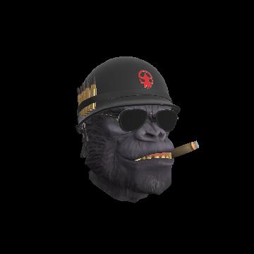 Gorilla Warfare Full Helmet