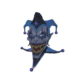 Cosmic Jester Mask
