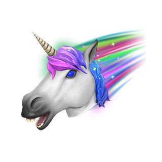 Rainbowier Unicorn Mask