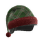 Green Plaid Holiday Tactical Helmet