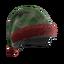 Green Plaid Holiday Tactical Helmet