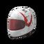 White Just Survive Motorcycle Helmet