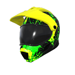 Showdown Season 3 Motorcycle Helmet
